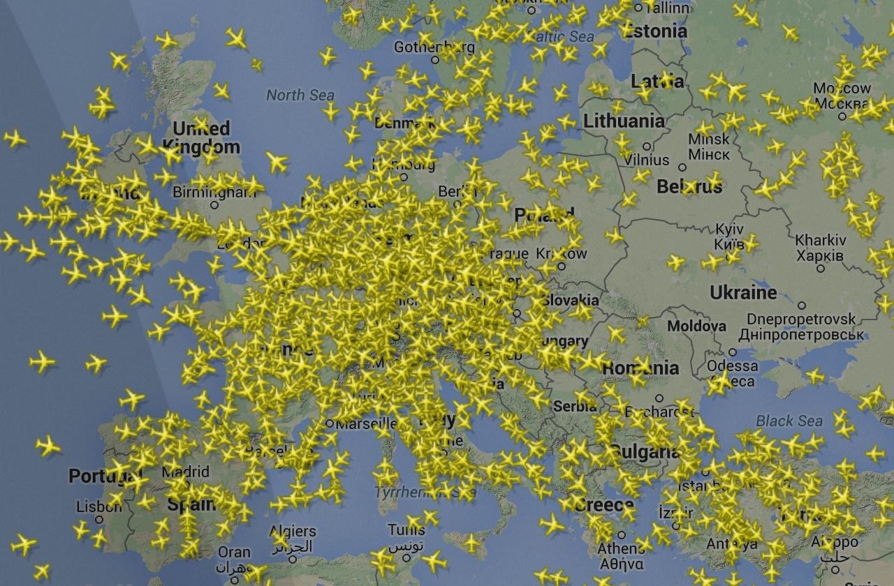 آموزش رصد هواپیما ها
